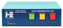 AES DIGISWITCH 1X3
