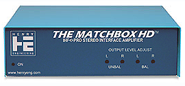 MATCHBOX-HD