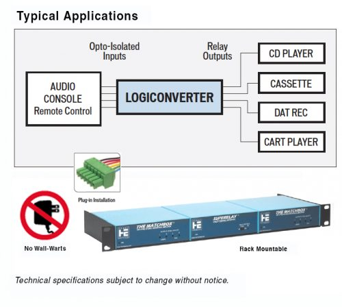 Logic converter
